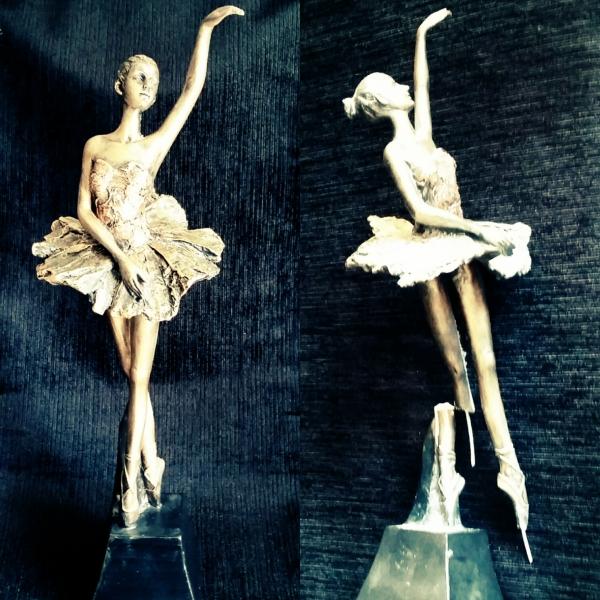 escultura em resina restauração
